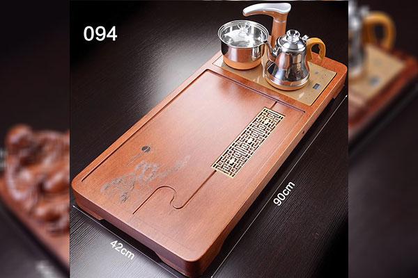 Bàn trà điện bằng gỗ hương