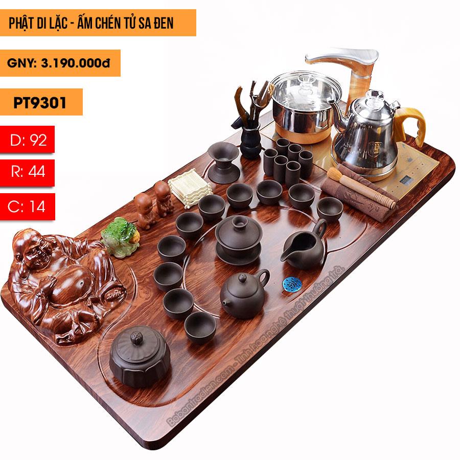 Bộ bàn trà điện Phật Di Lặc Lớn - PT9301