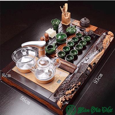 3: Hình ảnh bàn trà hồn quê