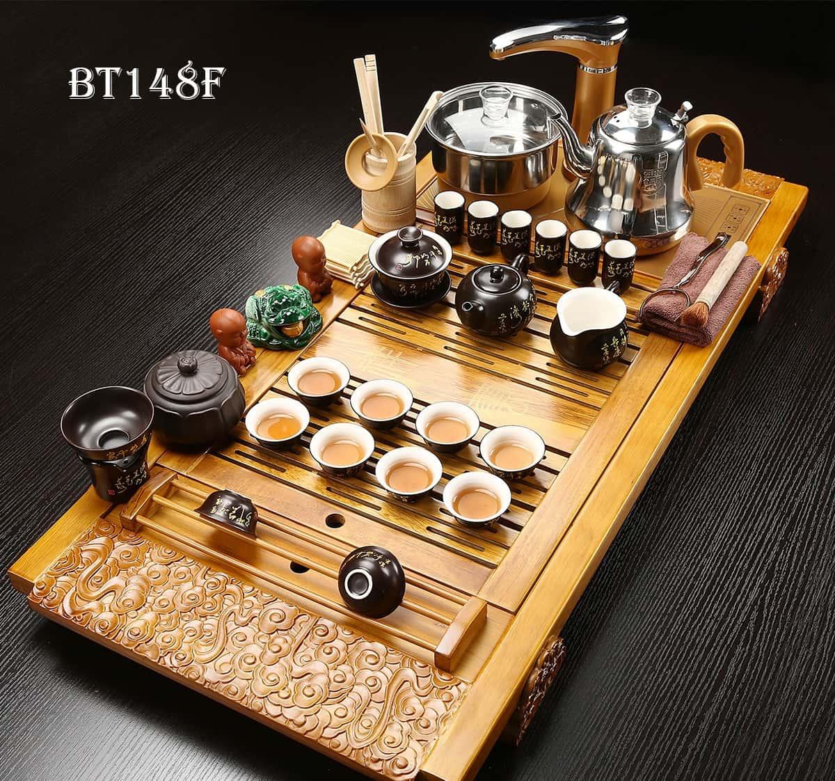 Bàn trà điện có ưu điểm gì?