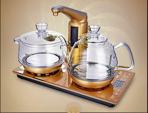 Kamjvoe G9 thủy tinh cao cấp bếp pha trà