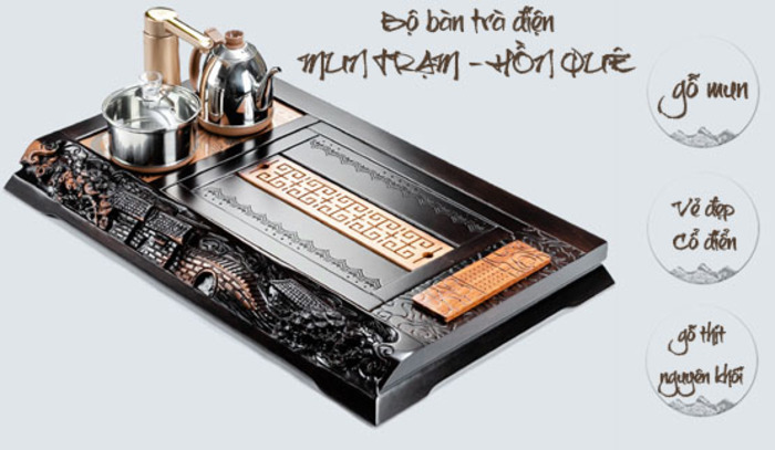 Đến với Bàn Trà Việt để lựa chọn mẫu bếp điện phù hợp với bàn trà của bạn nhé!
