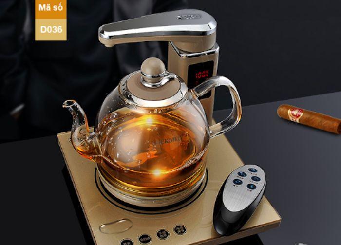 Thiết kế nhỏ gọn với đường nét hài hòa, nhẹ nhàng đúng với tinh thần trà đạo