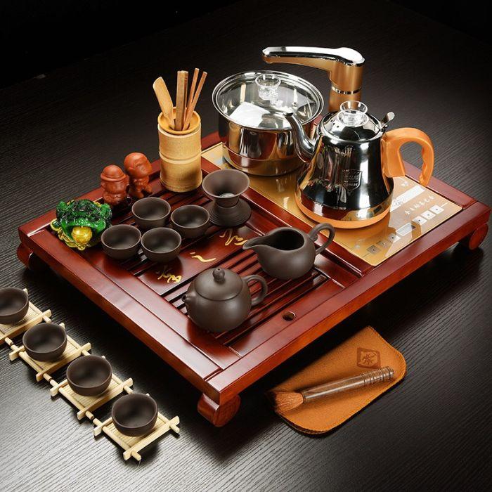 Bàn pha trà điện được tích hợp công nghệ hiện đại, đa chức năng